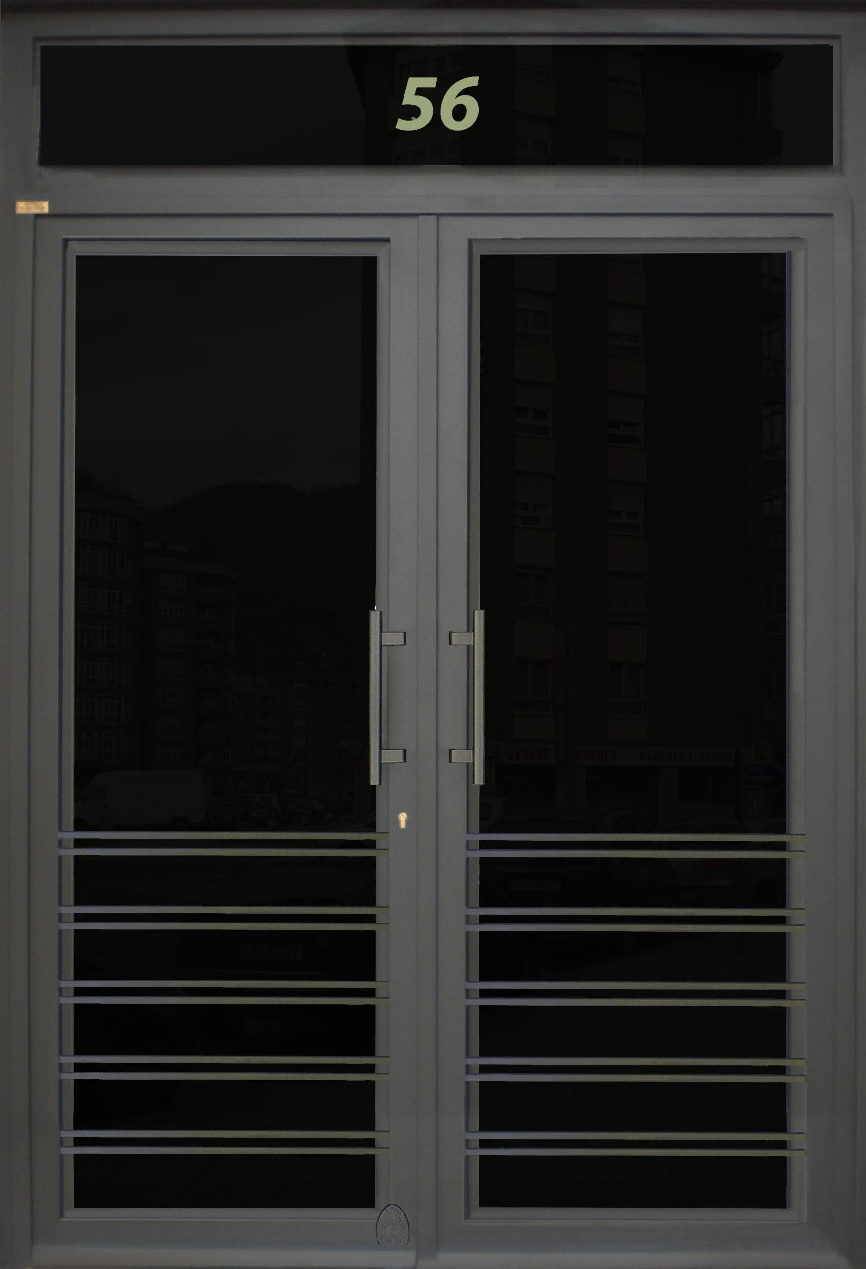 Modelo puerta Gran Vía