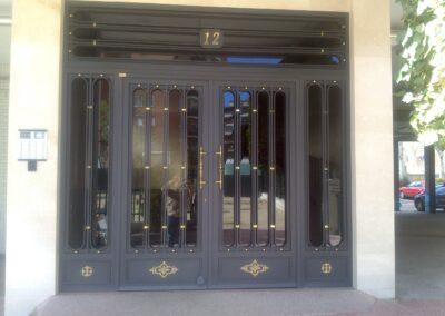 diseño de puerta de portal