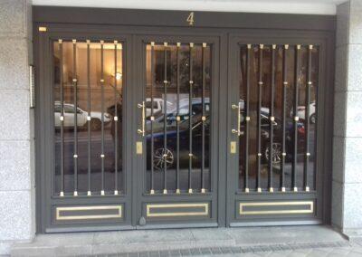 puerta de comunidad 3 puertas
