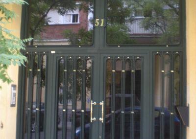puerta portal de 1 puerta
