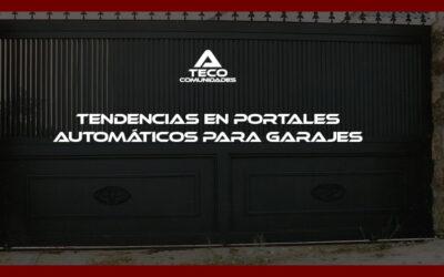 Tendencias en portales automáticos para garajes